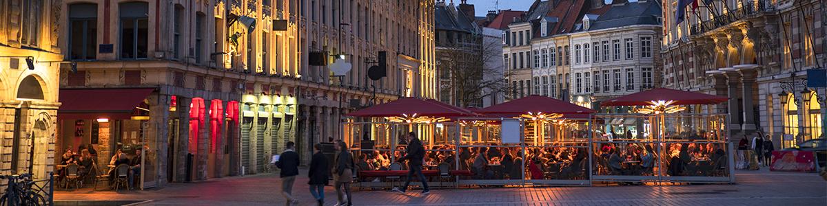 A 3à minutes, la ville de Lille